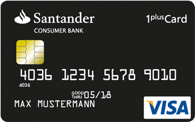Klicken Sie auf die Grafik für eine größere Ansicht  Name:santander-1plus-visa-card-kreditkarte.jpg Hits:10 Größe:40,9 KB ID:1096