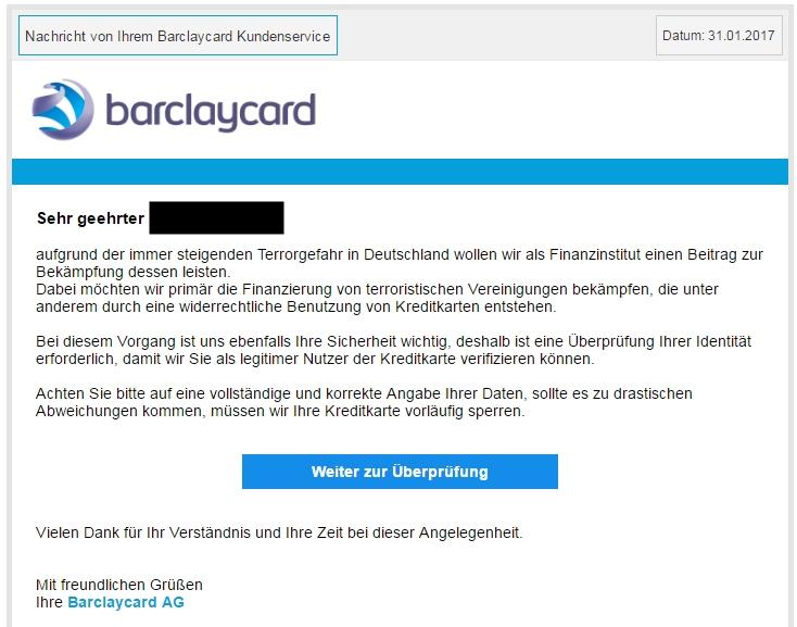 Klicken Sie auf die Grafik für eine größere Ansicht  Name:barclaycard-email-spam.jpg Hits:1 Größe:91,2 KB ID:1108