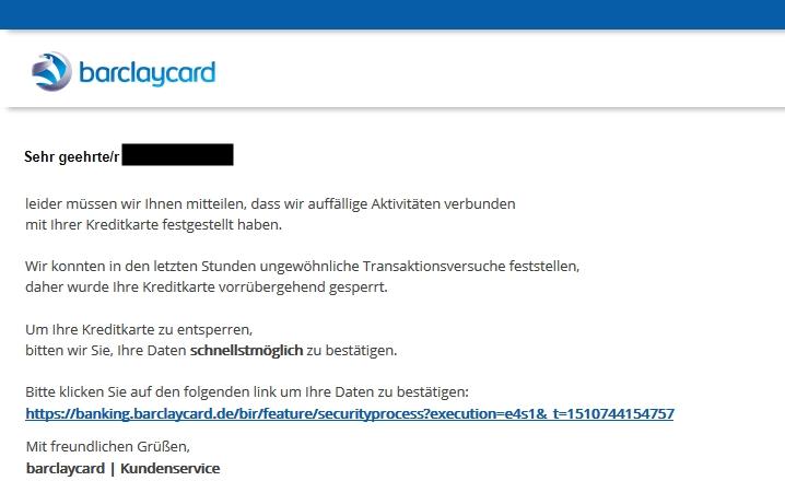 Klicken Sie auf die Grafik für eine größere Ansicht  Name:barclaycard-gefälschte-emails.jpg Hits:1 Größe:67,8 KB ID:1162