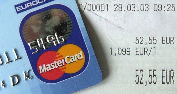 Gefälschte Kreditkarten